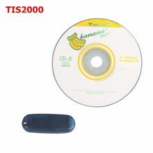 TIS2000 CD And USB Key For GM TECH2 SAAB Car Model Auto Diagnostic Interface Free Shipping