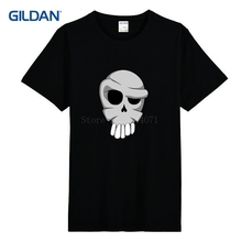 Classic Outfit Costume Tee Shirt Funny Cartoon Skull T Shirt The New Male T-Shirt Men 2017 Pictures Gildan Size S-3xl(China)