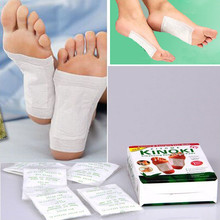 20pcs Kinoki Detox Foot Patches Pads Body Toxins Feet Cleansing Herbal Adhesive Hot (10pcs Patches+10pcs Adhesives)