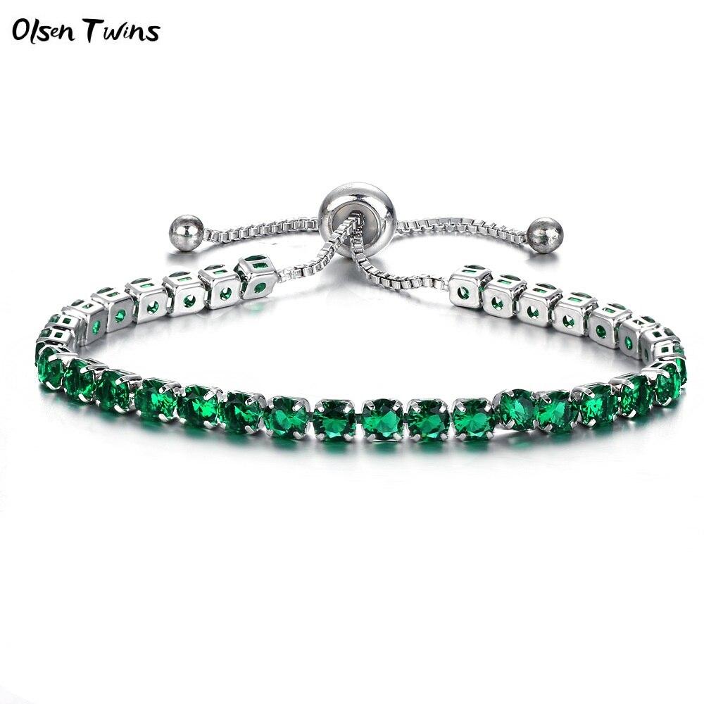 silver green -