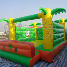 FREE SHIPPING BY SEA Factory Price&High Quality  Inflatable Bouncer Inflatable Trampoline Bounce House For Sale