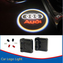 2x LED Car Door Logo Projector Light Warning Light For AUDI A1 A3 A4 B6 B8 A6 C5 80 A7 Q3 Q5 Q7 TT RS4 RS5 RS6 S4 S5 S6 S7 Sline