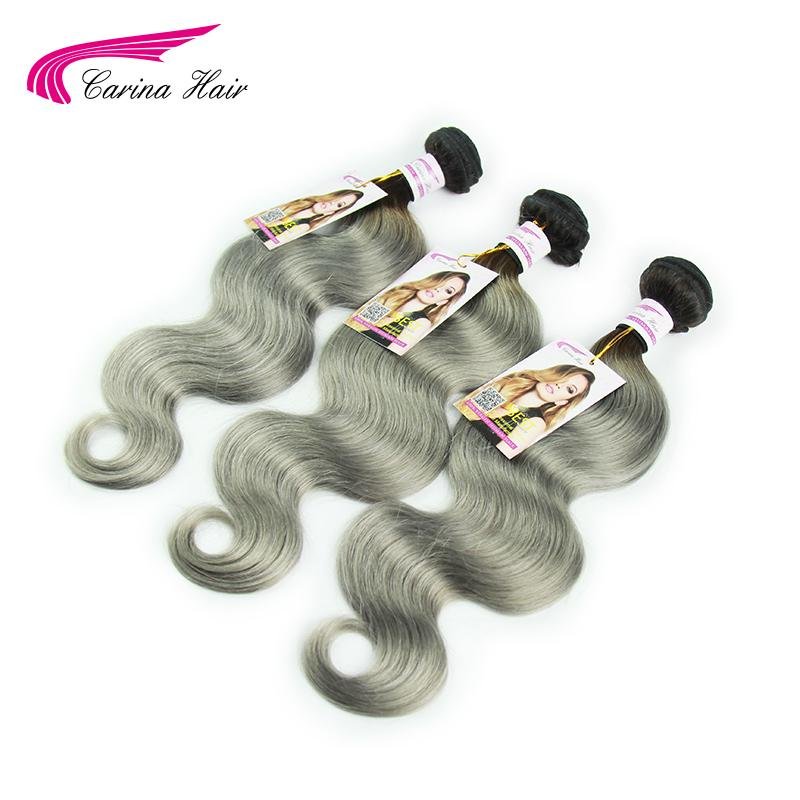 New Arrival 8A Gray Malaysian Virgin Hair Body Wave Silver Grey 3Pcs/Lot Human Hair Weave Bundles Silver Grey Hair Extensions<br><br>Aliexpress