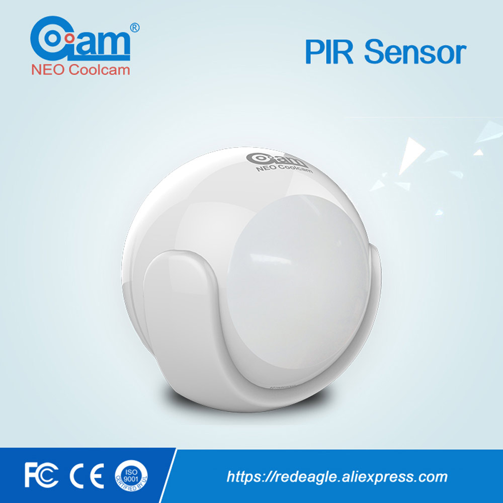 Z-Wave PIR Motion Sensor Compatible with Z wave system 300 series and 500 series Home Automation System<br>