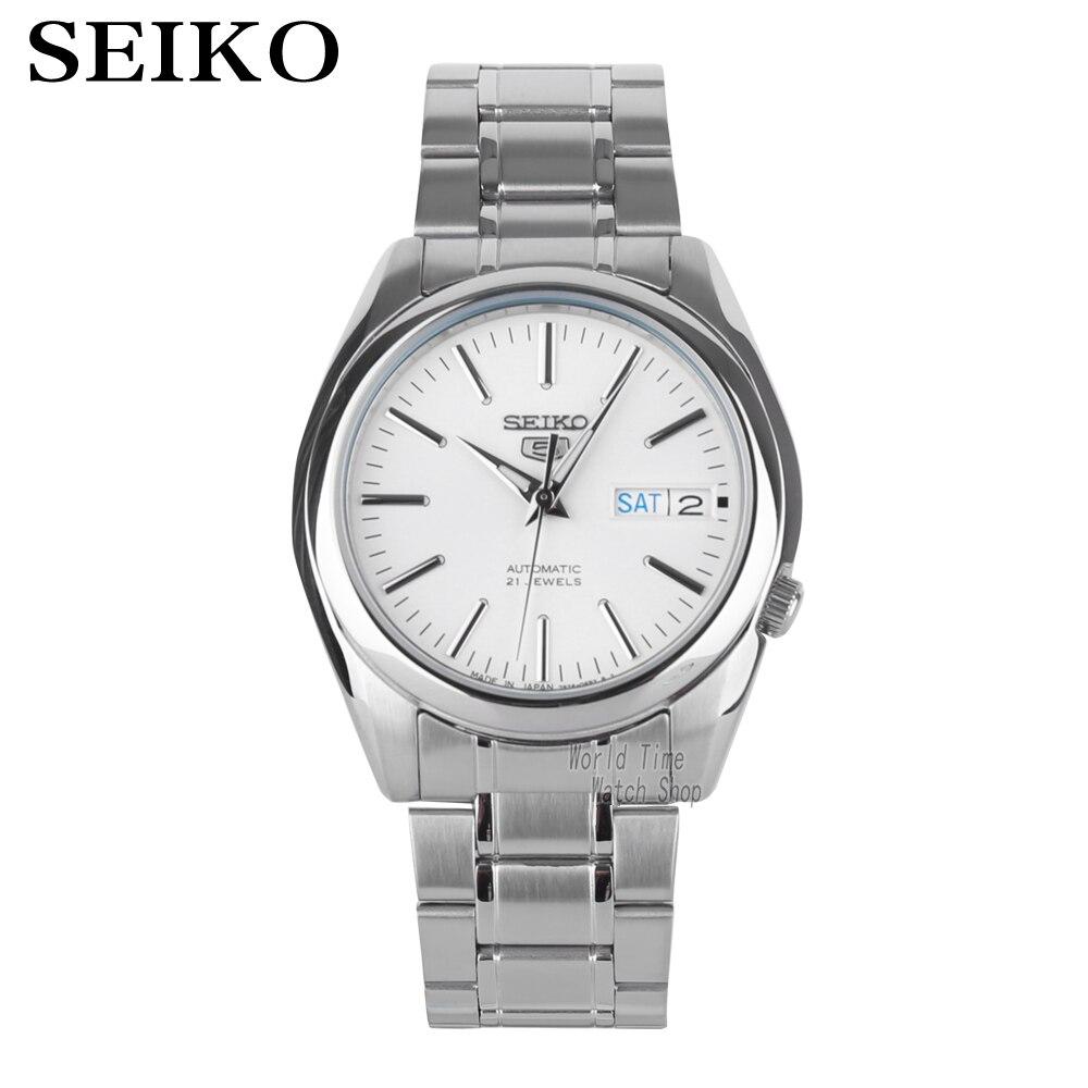2a0d5b80e066 5 Watch automatic mechanical watch calendar waterproof business men s watch  Dual language calendar
