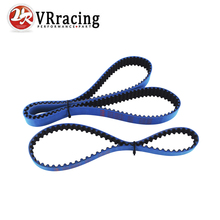 VR RACING - HNBR Racing Timing Belt + Balance FOR 1993-2001 Honda Prelude H22 T226RB T186RB BLUE VR-TB1004+1004-1B(China)