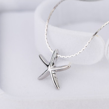 New Simple Style Beautiful Cute Women Sea Life Jewelry Starfish Birthday Gifts Pendant Necklace