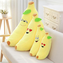 45CM Kids Soft Stuffed Toys Banana Plush Toys Cute Stuffed Pillow Baby Novelty Toy For Children Christmas Gifts MR48