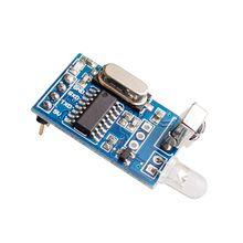 10PCS/LOT 5V IR Infrared Remote Decoder Encoding Transmitter&Receiver Wireless Module(China)