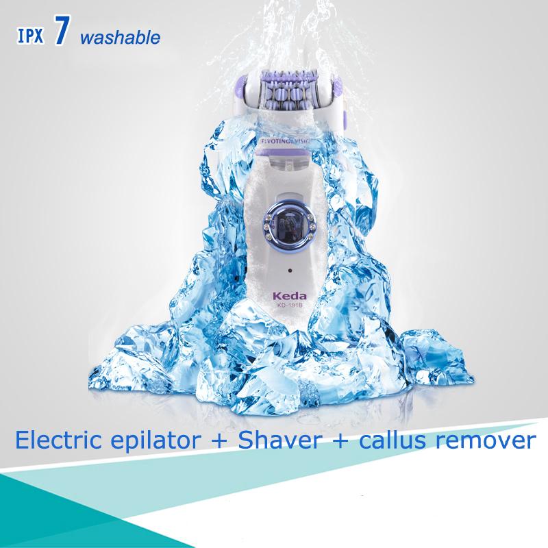 Quality-Washable-Multi-functional-Recharge-Electric-Depilacion-Depilation-Epilators-Depilatories-Shaver-Women-Callus-Remover
