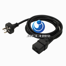 AU 1.8m IEC C19 to 3-Prong Plug AC Power Cable Lead Cord Adapter Generic, 1 PCS(China)