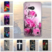 for Microsoft Lumia 550 Print Case Cover for Nokia Microsoft Lumia 550 Soft Silicone TPU Shell for Nokia 550 Cell Phone Case(China)