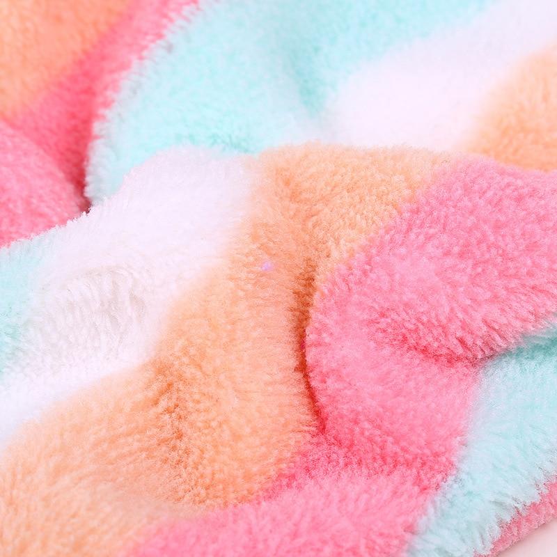 GIANTEX Women Bathroom Super Absorbent Quick-drying Microfiber Bath Towel Hair Dry Cap Salon Towel 25x65cm U0755 11