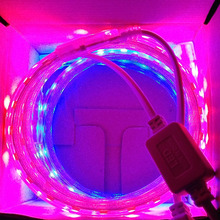 (1 m Red & 1 m Blue)/lot SMD 5050 LED Grow Lights Strip, 220V 28.8W/lot , For Seedlings Plants Growth In Grow Tent(China)