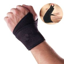 Magnetic Wrist Support Hand Brace Band Carpal Tunnel Sprains Strain Gym Strap Braces & Supports