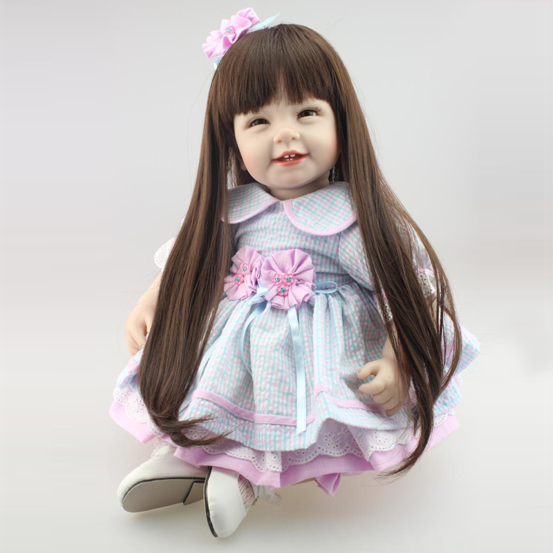 50-55 cm Silicone Reborn Baby Dolls lifestyle Doll Reborn Fashion Doll Reborn Soft Body With Clothes Best Toys to children<br><br>Aliexpress