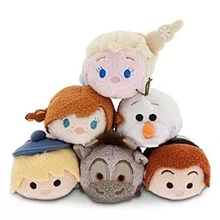 New Arrival Elsa Anna Olaf Snowman Sven Kristoff Hans TSUM TSUM Mini Plush Toy Christmas Gift Collection(China)