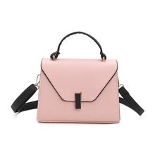 Small Pink Tote Bag Women New Fashion Leather Shoulder Bags Business OL Office Handbags Small Messenger Bags Shopper Sac Purses