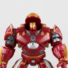 originl Hot NEW 1pcs movie avengers 2 18cm Age of Ultron light  man color Mark 43 Hulkbuster PVC Action Figure toys doll