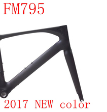 2017 new top road bike frame T1000 3k carbon bicycle frameset size XS S M L taiwan can be XDB free duty ship FM795