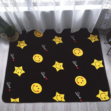 Love Smile Carpets For Living Room Home Rugs For Bedroom Cartoon Carpet Kids Room Soft Coffee Table Floor Mat Children Area Rug