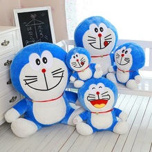 45CM One Piece 2016 PP Cotton Stuffed Soft Doraemon Plush Toy Cute Pillow Kids Toys Birthday Gifts 3 Expression
