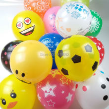 12inch print balloon 2.8g  50/100/200pcs happy birthday baloon for school-supplies event & party  wedding decoration balloons