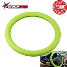 New Soft Silicone Steering Wheel Cover Fashional Decoration Shell Skidproof Odorless Eco-Friendly Protector For Lada Granta Golf