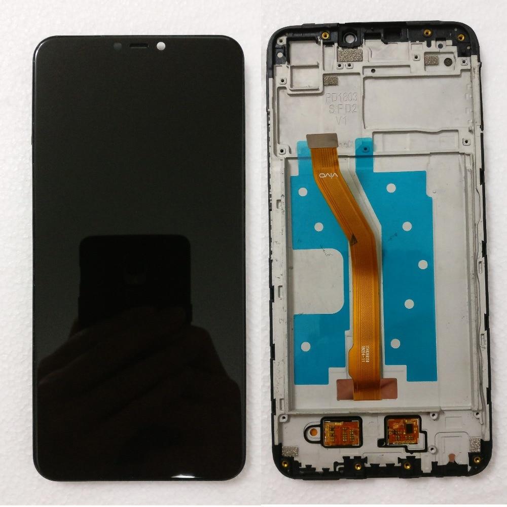 Черный 6 2 дюйма для BBK Vivo Y81 Y81S Y81i полный ЖК дисплей + кодирующий преобразователь