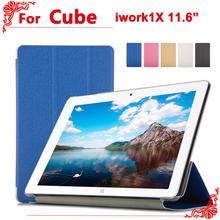 For cube iwork 1x case high quality PU Leather Cover Case For cube iwork1x 11.6 inch Tablet PC