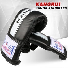 bend style punching bag gloves MMA Muay Thai Gym Punching Bag Mitt Train Sparring Kick Boxing Gloves