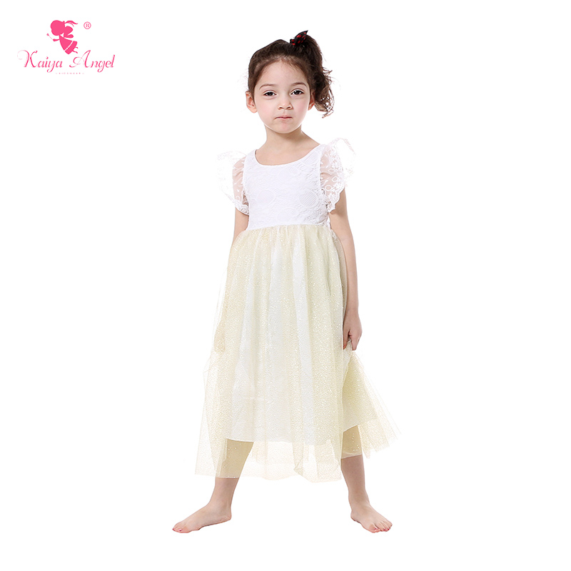New  Tulle Girls Dress Wholesale Girls Clothes Girls Princess 0-9T Children Wedding Dress Bunny Birthday Party