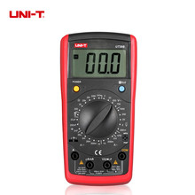 Portable UNI-T UT39B General Handheld Digital Multimeters Manual Range w/Capacitance Resistance LCR Meter(China)