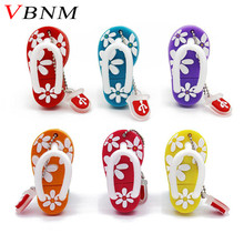 VBNM Summer mini Slipper USB Flash Drive shoe pen drive Gift Lovely cartoon pendrive 4GB/8GB/16GB usb flash drive memory stick
