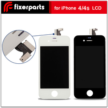 Fixerparts Pantalla Touch Screen For iPhone 4/4s LCD Display  Digitizer Assembly Replacement Phone Parts Repair Free Ship