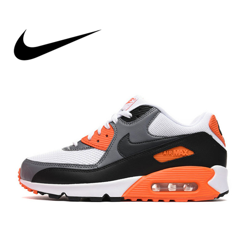 Original authentic NIKE AIR MAX 90 men's running shoes classic outdoor wear sports shoes comfortable breathable 537384-128(China)