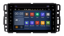 7 Inch Android 5.1 Quad Core HD 1024*600 Car DVD Player For GMC For Yukon/Tahoe 2007--2012 Free 8GB MAP Card Stereo Multimedia