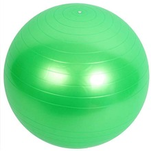 Popular Multi-Use Burstproof PVC Exercise Yoga Ball Gym Center iIndoor Use Trainning Fitness Balls 5 Colors 65cm Yoga Core Ball(China)