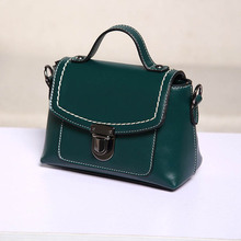 2017 Vintage Women Flap Small Women Messenger bags High Quality pu Leather Crossbody bags Korean Style Handbags chain strap bags