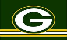 Green Bay Packers flag 3x5ft polyester digital printing banner with 2 Metal Grommets 100D free shipping(China)