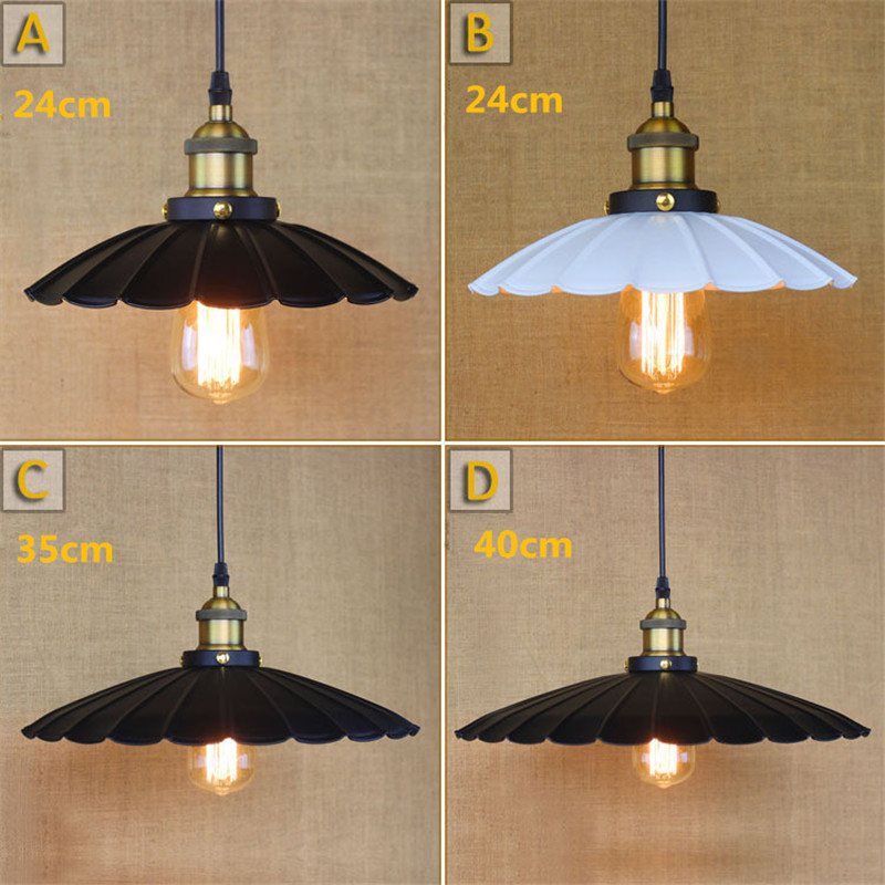 Antique Wrought Iron Pendant Lights Vintage Black Small Lighting Fixtures Kitchen Island Hotel Bar Room LED Modern Ceiling Lamp<br>