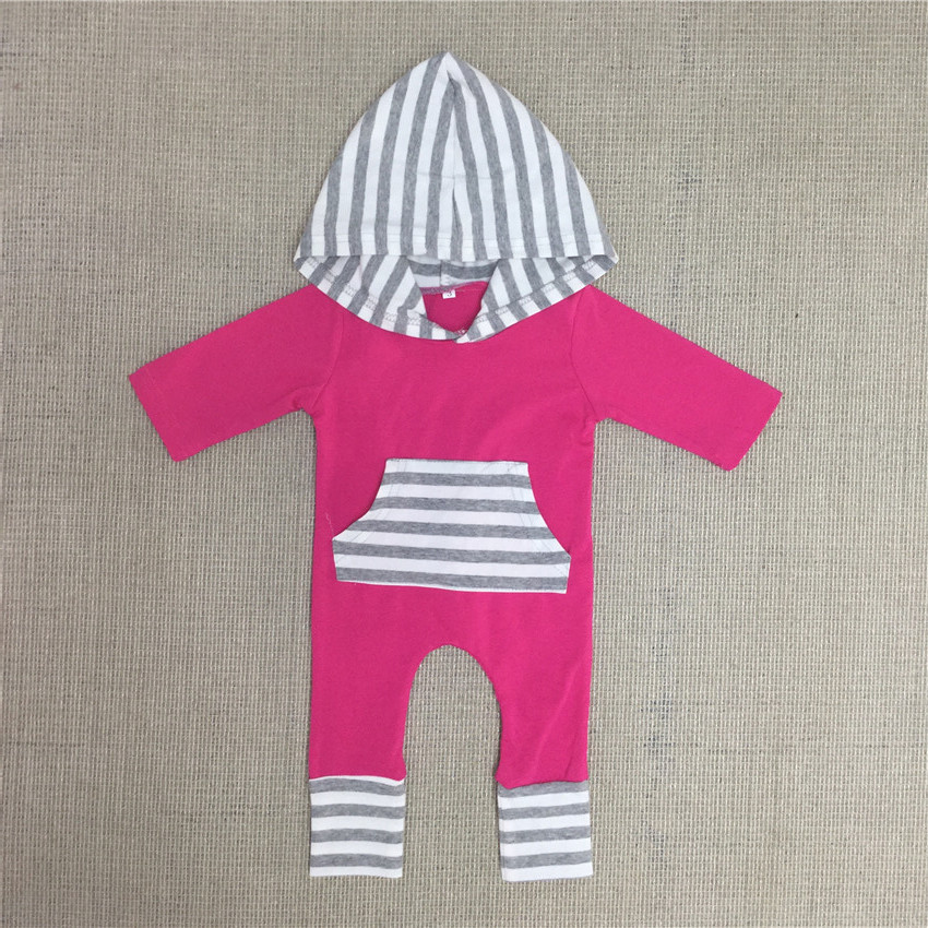 2017 New Baby Girls Winter Romper with Hood Newborn Cotton Long Sleeve Autumn Jumpsuit Infant Outfits Girl Fashion Playsuit G30<br><br>Aliexpress