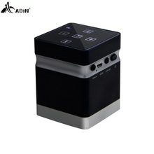 ADIN 26W Wireless Vibration Speakers Metal Bluetooth Handsfree AUX Hifi Speaker For Phones Computers MP3 MP4 Game Console(China)
