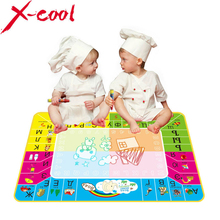 8875 73X49cm New Russian Water Drawing Mat with 1pcs Magic pen /Russian Child's drawing board/drawing mat