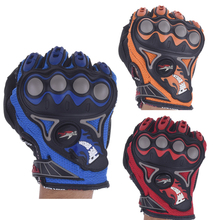 New Carbon Bomber Motocross Gloves BMX ATV MTB MX Off Road Glove Dirt Bike Cycling Bicycle Motorcycle Racing Gloves Black Red(China)