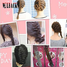 Free shipping hair accessary for women / Handmade fashion  scollops french barrette hair maker