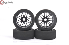 4 PCS/Set 1/8 RC foam Tires form Wheel pre-glued For RC Car Buggy Sponge tire Remote Control Toy Model Car Accessories