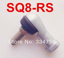 Free Shipping 4pcs/lot SQ8RS  8mm Ball Joint Rod End  Right Hand Tie Rod Ends Bearing  SQ8 RS