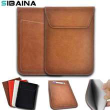 8'' Universal PU Leather Sleeve Case For iPad Mini 1 2 3 4 Samsung TAB 3 4 T110 8.0 Tablet Cover Pouch Bag For Lenovo Tab3 850F