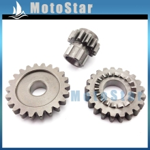 Idler Driven Bridge Kick Strat Gears For Chinese YX 150cc 160cc YX150 YX160 Engine Pit Dirt Motor Bike Motorcycle Motocross(China)